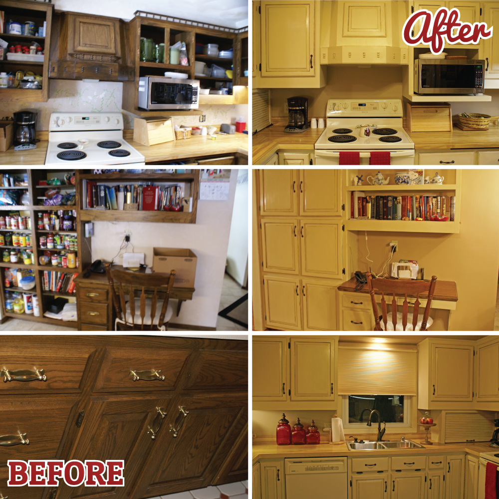 Chalk Paint Used On Kitchen Cabinets: Update Your Cabinets Workshop